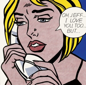 Lichtenstein_OhJeffILoveYouTooBut_1964