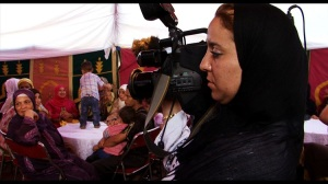 Khadija shooting the women guests