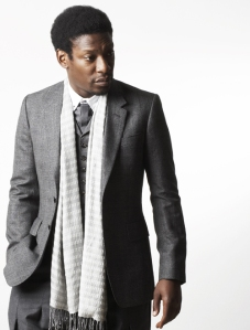 Roots Manuva by Andy Swannell