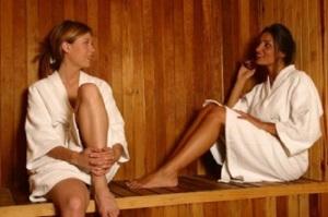 STEAMY DETOX sauna