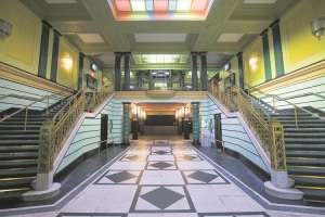 MUSIC Brixton Academy inside steps